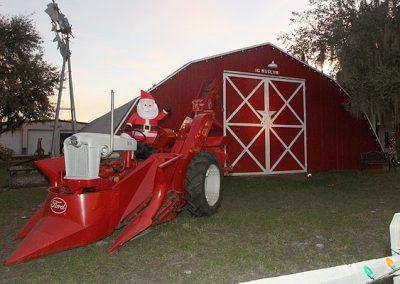 Christmas Tractor